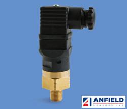 Anfield Sensors SPA / SPF - 快动作低压压力开关