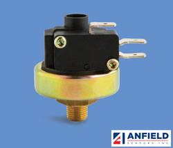 Anfield Sensors SPAH / SPFH系列 - 较高电流额定值压力开关
