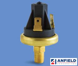 Anfield Sensors SPVL / SPVF - 小型真空开关